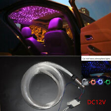 DC12V Audio Fiber Optic Star Light Set Decorate Car Headliner Roof Ceiling Light