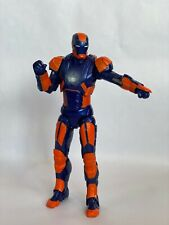Marvel Legends Iron Man 3 Party Edition Suit 6.75 inches Midnight Blue Orange