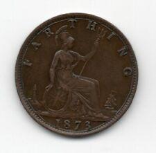Great Britain - Engeland - 1 Farthing 1873