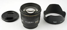 Sigma 50mm 1,4 DG HSM EX Canon EF  SHP 61119