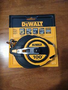 DEWALT DWHT34036L 100-Foot Closed Case Long Tape Measure New Sealed