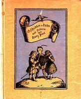 Geschichten u. Lieder - Franz Pocci  - Schattenbilder  -  Noten    1913