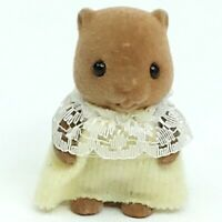 Sylvanian Families figure toy doll figurine Baby Beaver Small Vintage