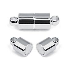 10pcs/lot Copper 5*15mm Strong Magnetic Clasps Bracelet End Caps Connectors