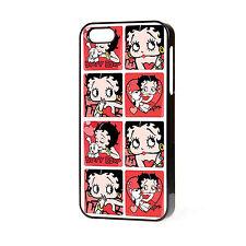 Nueva Funda de teléfono de Betty Boop 165 se adapta iPhone 4 4S 5 5S 5C 6 Gratis P&P.