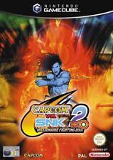 Capcom vs SNK 2: Eo Nintendo Gamecube GBC Video Juego UK release