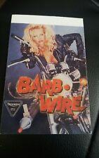 2 x Rare Barb Wire Triumph Pamela Anderson 1996 Stickers 115mm x 83mm