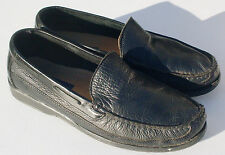Giorgio Brutini Park Ave Black Leather Loafers Men's Size 11 M (Fast Shipping)