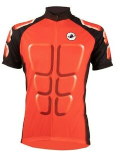 """Castelli """"ABS"""" Men's Cycling Jersey Size Large Red : Weekend Sale"""