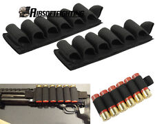 2X Tactical 6 Rounds Shotgun Shell Holder Card Strip with Adhesive Back 12 Gauge