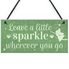 Garden Sign Shed Fairy Plaque Friendship Best Friend Motivational Birthday Gift