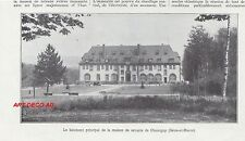 Doc.Ancien La Maison de retraite de Champigny en Seine et Marne 1932  - 2H