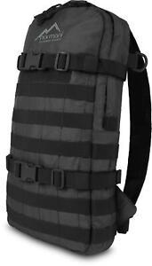 Rucksack Tagesrucksack MOLLE mit Trinkblasenvorrichtung Schulrucksack 8 Liter