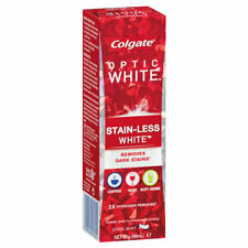 COLGATE OPTIC WHITE STAIN-LESS WHITE TOOTHPASTE 85G 68ML COOL MINT STAINLESS