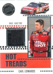 CARL EDWARDS - Authentic Race-Used Material - 2008 Press Pass VIP  #HT6    [a8]