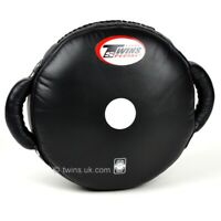 Twins Punch Cushion Leather Coaching Strike Shield MMA Target Pad Muay Thai Mitt