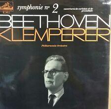 33 tours BEETHOVEN SYMPHONIE N ° 2 - KLEMPERER - LA VOIX DE SON MAITRE - EN TBE