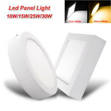 10152530w Surface Mount Led Ceiling Down Light Panel Lamp Indoor Kitchen Bulb