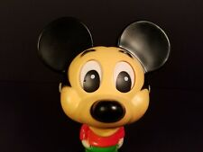 Mickey Mouse Talking Pull String Toy Mattel 1976 Walt Disney Productions Works