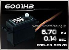 SERVO COMANDO ANALOGICO DA 6.7 kg 0,14 sec HIGH SPEED POWER HD-6001HB HIMOTO