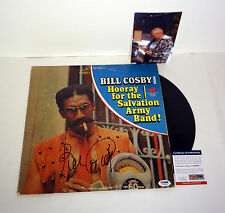 BILL COSBY THE SHOW SIGNED HOORAY SALVATION ARMY RECORD ALBUM PROOF PSA/DNA COA