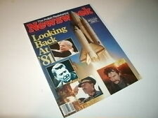 Newsweek Magazine, January 4, 1982. Space Shuttle NASA, Princess Diana!
