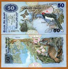 Sri Lanka / Ceylon 50 Rupees, 1979, P-87, UNC > Rare in UNC