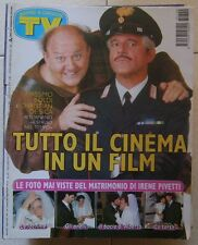 TV Sorrisi e Canzoni n 49 del 1997 Boldi,De Sica,Pivetti,Muti,Caselli,Ron...