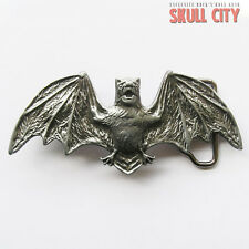 MÉTAL BAT boucle de ceinture Chauve-souris Vampire Dracula Gothique Batcave