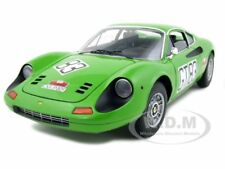 FERRARI DINO 246 GT ELITE #83 1971 NURBURGRING 1/18 MODEL CAR BY HOTWHEELS T6260