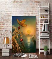 CHOP22 charming 100% hand-painted oil painting landscape decor art on canvas-