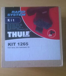 Thule 1265 Fitting Kit Fiat Stilo 5 door 02-07 normal roof (not fixed points)