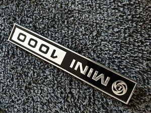 British Leyland MINI 1000 badge