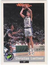 CHRISTIAN LAETTNER 1992 Classic card #3 Duke Blue Devils Basketball NR MT