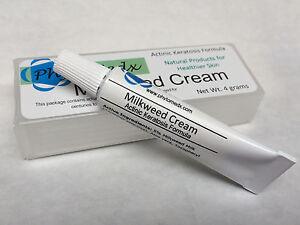 PhytoMedx Milkweed Cream Actinic keratosis formula - effective natural remedy