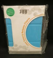 """FYY Amazon Kindle Wi-Fi E Ink 6"""" Tablet HARD Back Stand Book Case Turquoise Blue"""
