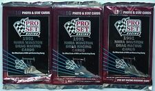 1991 NHRA DRAG RACING CARDS UNOPENED PACKS (3) DON GARLITS RANDOMLY DISTRISBUTED