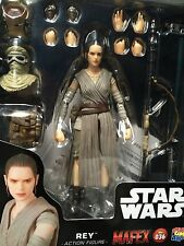 "MISB NEW Star Wars Medicom Toys Mafex REY 6"" Action Figure USA SHIPPER!"