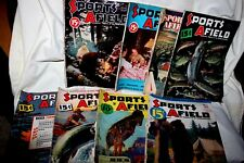 8 Sports Afield magazines May 33 - Dec 48 Wilwerding covers Phillip Goodwin ad