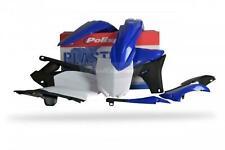 Polisport Plastic Kit Set Blue Black White Complete Original YZ250F 2010-2013