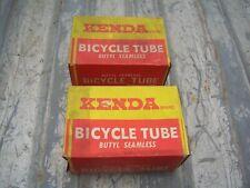2 Vintage Kenda 16 x 1.75 Butyl Seamless Tube