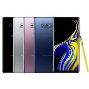"Samsung Galaxy Note 9 Dual SIM Unlocked Android Smartphone 128GB 6.4"" Grade B"