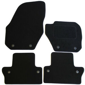 For Volvo S60 MK2 2010-2018 Fully Tailored 4 Piece Black Car Mat Set