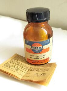 FINAL Vintage AGFA Chemical Film developer  1960th manual