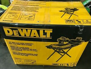 DEWALT D36000S 10 in. High Capacity Wet Tile Saw with Stand, N