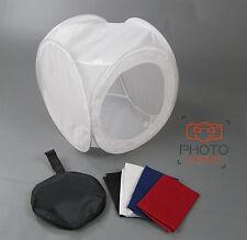 "40cm / 16"" Photography Light Tent + 4 Backdrops - Box Cube Photo Studio Softbox"