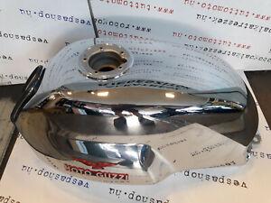606007M New Genuine Original Chrome fuel tank  Moto Guzzi V7