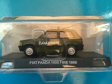 "DIE CAST "" FIAT PANDA 1000 FIRE - 1986 "" SCALA 1/43 CARABINIERI"