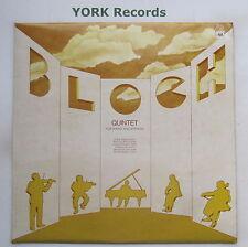 Sdbr 4252-BLOCH-Quintet Glazer/Fine Arts Quartet-Excellent ARNAQUE LP record