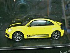 VW Beetle New Käfer MKIII gelb schwarzer Renner limited Schuco RAR 1:43